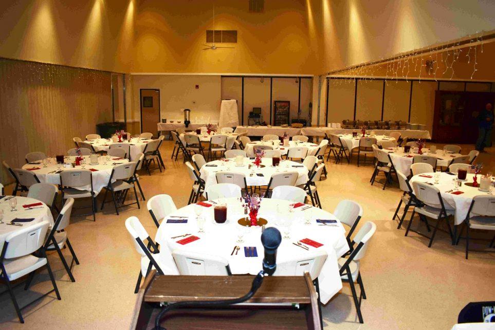 Banquet Hall - Bay 1 (setup from podium) Image