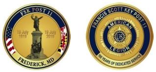 FSK Post 11 Centennial Coin Image